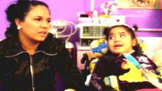 La pequeña Romina Cornejo se recupera y ya da sus primeros pasos