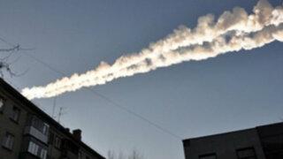 Daños por más de 30 millones de dólares deja caída de meteorito en Rusia