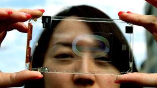 Taiwán: ingenieros fabrican prototipo de celular transparente