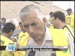 Luis Baca: Declaraciones de Villarán sobre Castañeda son tomadura de pelo