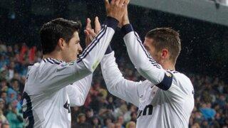 Real Madrid venció por 2 a 0 al Rayo Vallecano