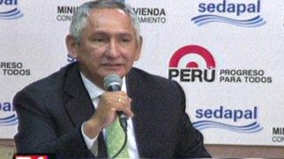 Gobierno anuncia la implementación de agua potable para todo Lima