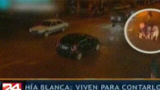 Argentina: jóvenes salvaron milagrosamente de morir tras ser arrolladas