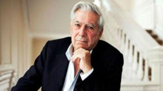 Mario Vargas Llosa lamentó que jóvenes conviertan a deportistas en sus ídolos