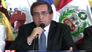Apristas desmienten pedido de vacancia en el gobierno de Toledo