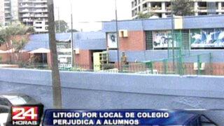 Surco: litigio por terreno de colegio dejaría a sus alumnos en la calle