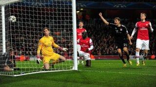 Bayern Munich derrotó 3 a 1 al Arsenal por la Champions League