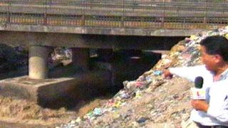 Centro de Lima: puente de avenida Universitaria está a punto de colapsar