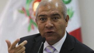 Ministro Pedraza: hay una firme decisión política de enfrentar la delincuencia