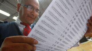 PEE: Limeños aún no saben cómo votar debido a complejidad de cédula