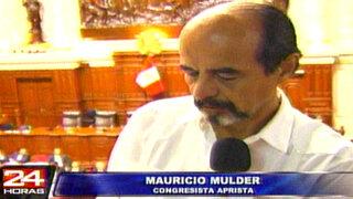 Mulder afirma que Raúl Diez Canseco apoya el 'No' por intereses económicos