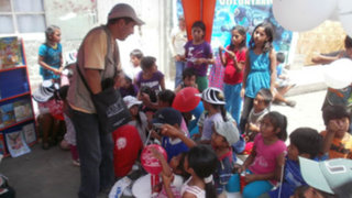 Gran acogida tuvo el Programa de Fomento de la Lectura en Huaura