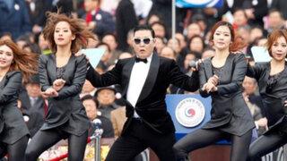 PSY causó furor en asunción de la primera presidenta de Corea del Sur