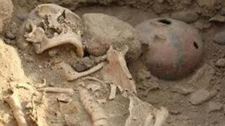 Encuentran once tumbas preincas dentro de la Videna en San Luis