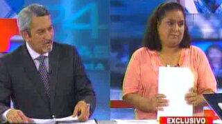 """""""Somos Perú"""" impide a viuda de Andrade participar en elecciones internas"""