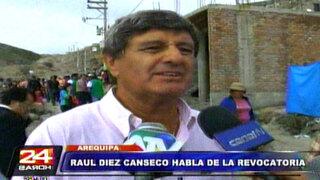 Raúl Diez Canseco: La revocatoria nos ha vuelto a polarizar