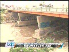 Puente de Av. Faucett a punto de colapsar por incremento de tránsito
