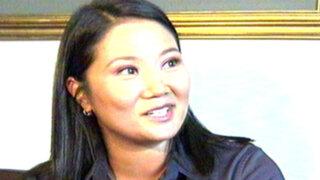 """Noticias de las 7: gestión Humala es """"decepcionante"""" en seguridad, dice Keiko"""