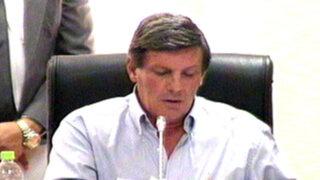 Ministro Cateriano a Rafael Rey: No puedo atender caprichos personales