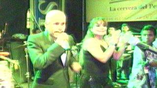 La faraona y el faraón: Marisol tuvo un duelo musical con Oscar D'León
