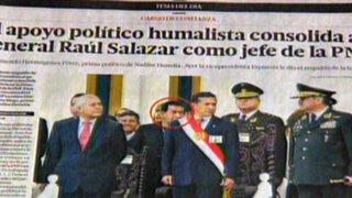 Presidente Humala negó influencias en permanencia de Raúl Salazar