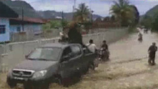 Huánuco: torrenciales lluvias causan desborde del río Huallaga