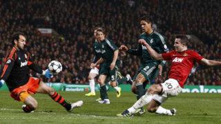 Real Madrid eliminó a Manchester United de la Liga de Campeones