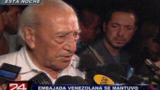 Isaac Humala: venezolanos pierden un gran líder