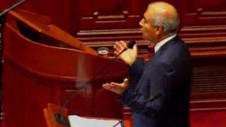 Bancadas de oposición exigen censura al Ministro Wilfredo Pedraza
