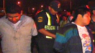 Policía capturó a peligrosa banda 'Los malditos de Comas'