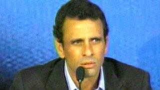 Noticias de las 6: Henrique Capriles denuncia fraude en Venezuela