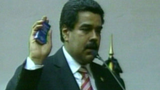 Nicolás Maduro juramentó como nuevo presidente de Venezuela