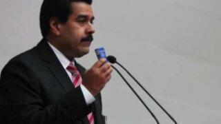Maduro juramentó como presidente encargado de Venezuela