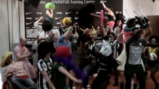 Juventus celebró su victoria ante el Celtic al ritmo del Harlem Shake