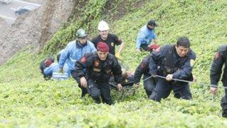 Rescatan a colombiana que atentó contra su vida en la Costa Verde