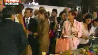 Ollanta Humala recibió reconocimiento a la Gastronomía Peruana