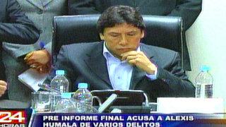 Congreso sancionaría a hermano de Humala por ursurpación de funciones