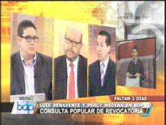 Expertos afirman que Villarán debió asistir al debate para ganar adeptos
