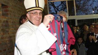 San Lorenzo saldrá a jugar con camisetas en homenaje a Papa Bergoglio