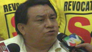 José Luna: Esperaremos con tranquilidad los votos de los conos
