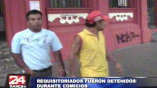 Más de 30 personas fueron detenidas durante el proceso de revocatoria