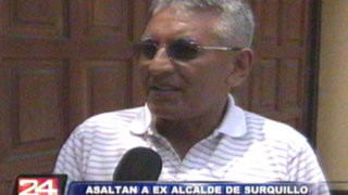 Gustavo Sierra, ex alcalde de Surquillo, es asaltado en la puerta de su casa