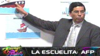 La escuelita AFP: Jaime Delgado aclara y explica las dudas de los aportantes