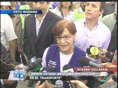 Susana Villarán no se mostró en contra de contratar a regidores revocados