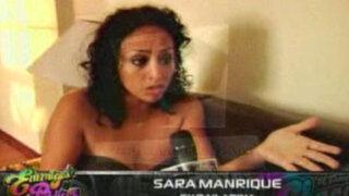 Sara contra Tenchy: la Manrique y el futbolista se acusan en torno a su hija