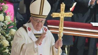 Papa Francisco pidió que cese la violencia en Siria y en las dos Coreas