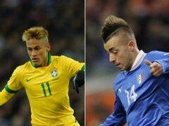 Brasil empató 2 a 2 frente a Italia en partido amistoso
