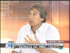 Germán Leguía considera que tenemos equipo para derrotar a Chile