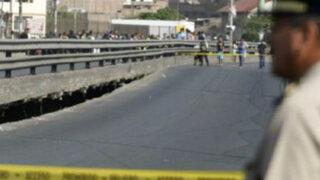 Demolerán parcialmente puente Bella Unión en la avenida Universitara