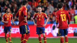 España empató 1 a 1 con Finlandia por las eliminatorias europeas